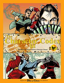 CHaracter Codex III Cover