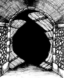 Passage into darkness