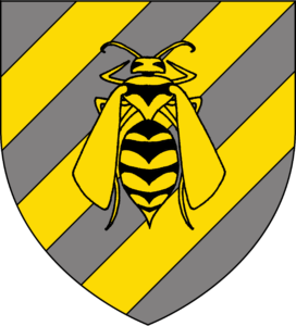 Heraldry Wasp Shield