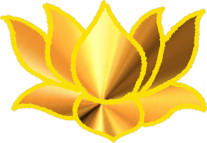 Gold Lotus Illustration