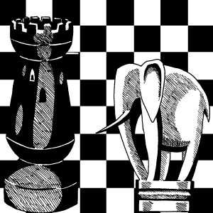 Battle and strategy as chess