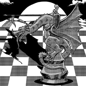 dragonrider chess piece
