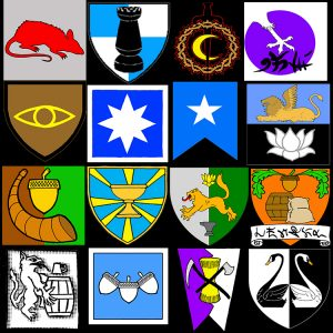 heraldry from the blog