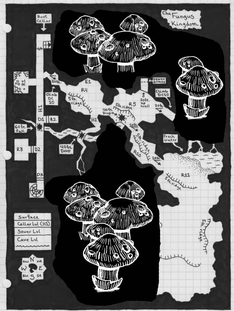 Fungus Kingdom Map