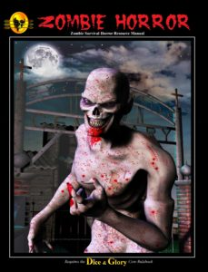 old zombie horror cover by Leonard Y.